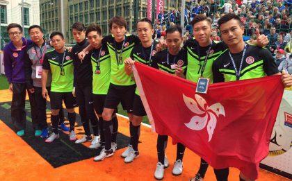 無家者世界盃港隊名列「盾賽」第8位