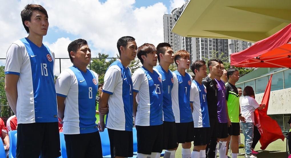無家者世界盃香港代表隊授旗禮